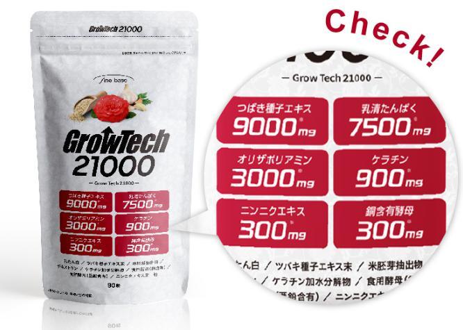 グロウテック21000(GrowTech) 成分・原材料